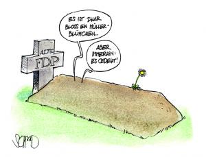 Karikatur von Felix Schaad