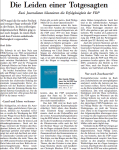 Rezension NZZ - 6.5.2015